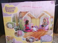 Rose petal dream town cottage puppy lane boxed