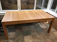 Ikea Oak Extendable Dining Table - Price Reduced to £40 for Quick Sale