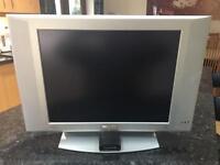 "Philips 20"" flat screen TV & Freeview digital box"