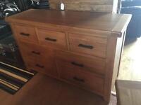New/Cancelled order** 4 piece solid oak bedroom set -- BARGAIN ONLY £720