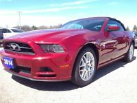 2014 Ford Mustang V6 PREMIUM, CLOTH TOP, LTHR, LOADED!