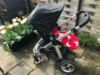 iCandy Apple pushchair with pram