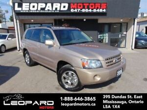 2006 Toyota Highlander 7 Passenger,4Wd,Low Km*No Accident**