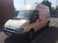 2006 ford transit 2.4 100ps t350 ply lined 9 months mot bulk head