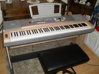 Yamaha DGX 630 Portable grand ..88 KEYS ..with pedal board ,stand