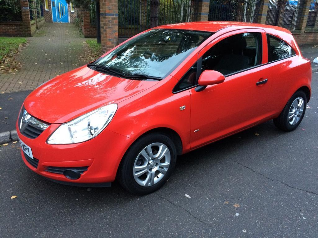2009 vauxhall corsa 1 2 active petrol red 3 door long mot smooth drive immaculate condition in. Black Bedroom Furniture Sets. Home Design Ideas