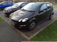Smart Forfour 1.1 2006 58700 miles service history