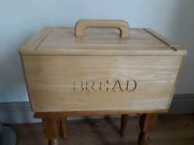 Solid Pine Bread Bin