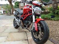 Ducati Monster 696, 2013 model - 380 miles as New condition