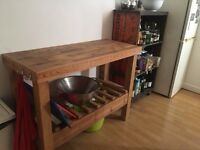 Butcher's Block and Open larder/pantry