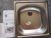 New Franke stainless steel sink just £15 as not needed. Still Available, I will remove add when gone