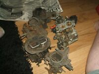 five weber and zenith carbs for refurb or spares