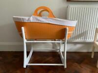 MOBA bassinet/Moses basket with stand