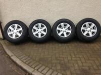 Ford ranger alloys and tyres
