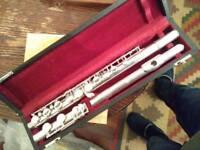 Henri Selmer Paris sterling silver flute