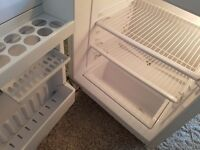 Fully working fridge intergrated Zanissi. 1.5years old. Was £400.Clean.Could be delivered