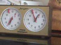 Jerger chess clock