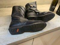 Frank Thomas gortex motorcycle boots