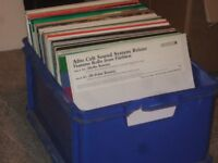 """130 x 12"""" House / Electro / Funky House Vinyl Records Collection 90s- 2000's"""