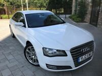 2012 AUTOMATIC Audi A8 3.0 TDI SE.BRILLIANT DRIVE.FULL SERVICE.BRAND NEW 1 YEAR MOT.FULL SPEC.2 KEYS