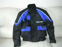 Richa XS Motorbike Jacket with Impact Armour, Great Condition