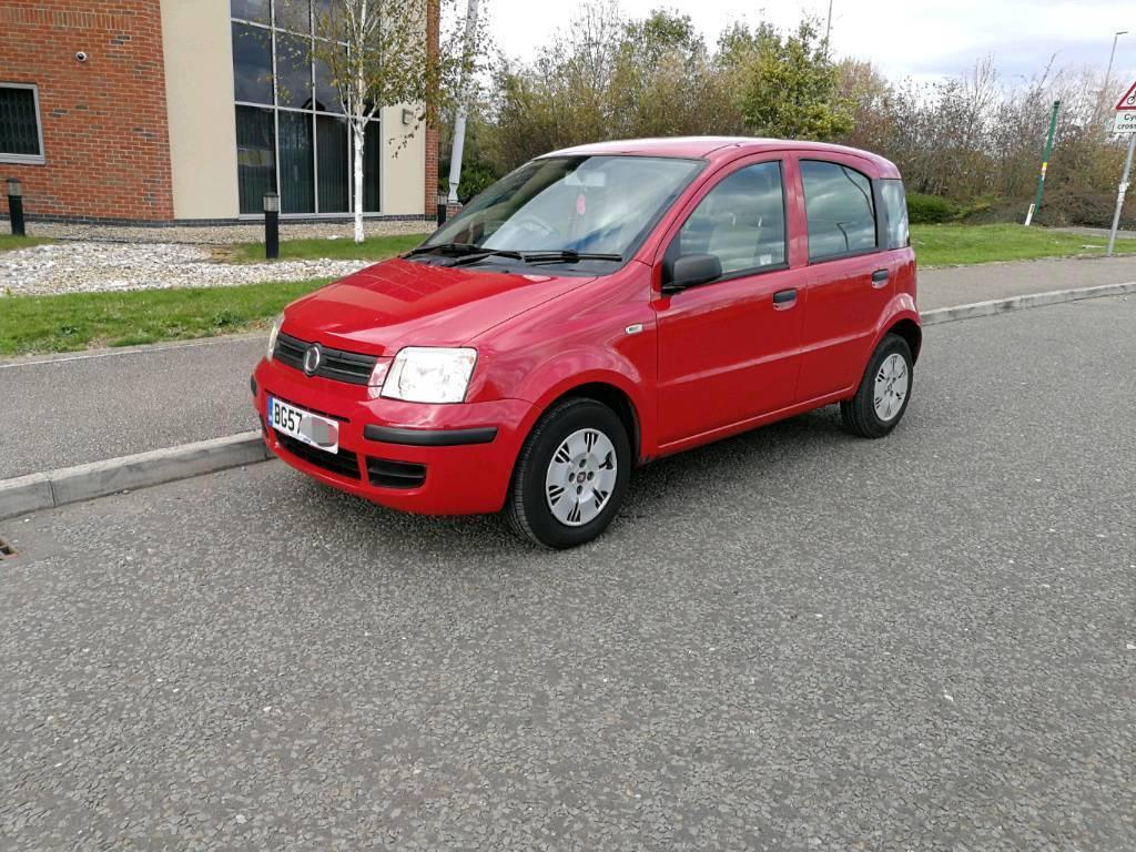 2007 57 Fiat Panda 1 3 dynamic 5 door diesel 70 bhp red 64 mpg | in Market  Harborough, Leicestershire | Gumtree