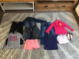Girls clothing bundle age 7-8