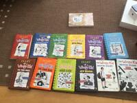 Diary of a wimpy kid whole set
