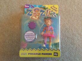 ZingZillas Posable Figure Panzee Brand New