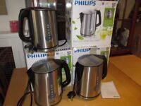 Philips HD4671/20 Energy Efficient Kettle 3000 W 1.7 L - Brushed Metal
