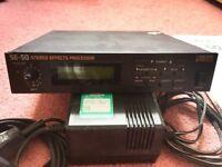 BOSS SE-50 Multi Effects Processor w/original manual