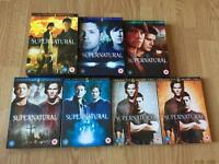 Supernatural DVDs series 1 - 6