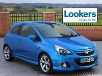 Vauxhall Corsa VXR (blue) 2013-12-31