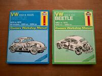 VW Beetle Haynes manuals