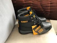 Dewalt Stainless steel boots new