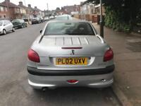 206 convertible Spares and repairs automatic