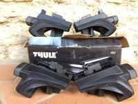 Thule 757 Rapid System foot pack for normal roof rails