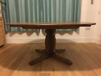 Ercol extending dining table