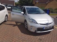 TOYOTA PRIUS VVT-I AUTO HYBRID WITH PCO LICENCE, £20 ROAD TAX, 23345 K MILES.