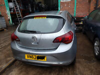 Vauxhall Astra MK 6/J Tailgate in Silver INC GLASS 2010 11 12 13 14 2015 Ring for more info