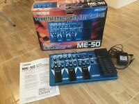 Boss ME50 effects pedals