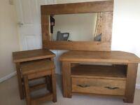 Next Hartford Furniture For Sale (Mirror, Corner TV Unit)