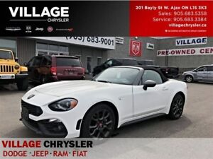 2017 Fiat 124 Spider Abarth|Luxuary Collection|Safety Collection