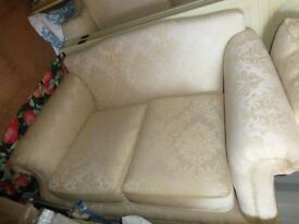 Matching large and small sofas/settees