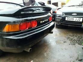 Toyota mr2 breaking