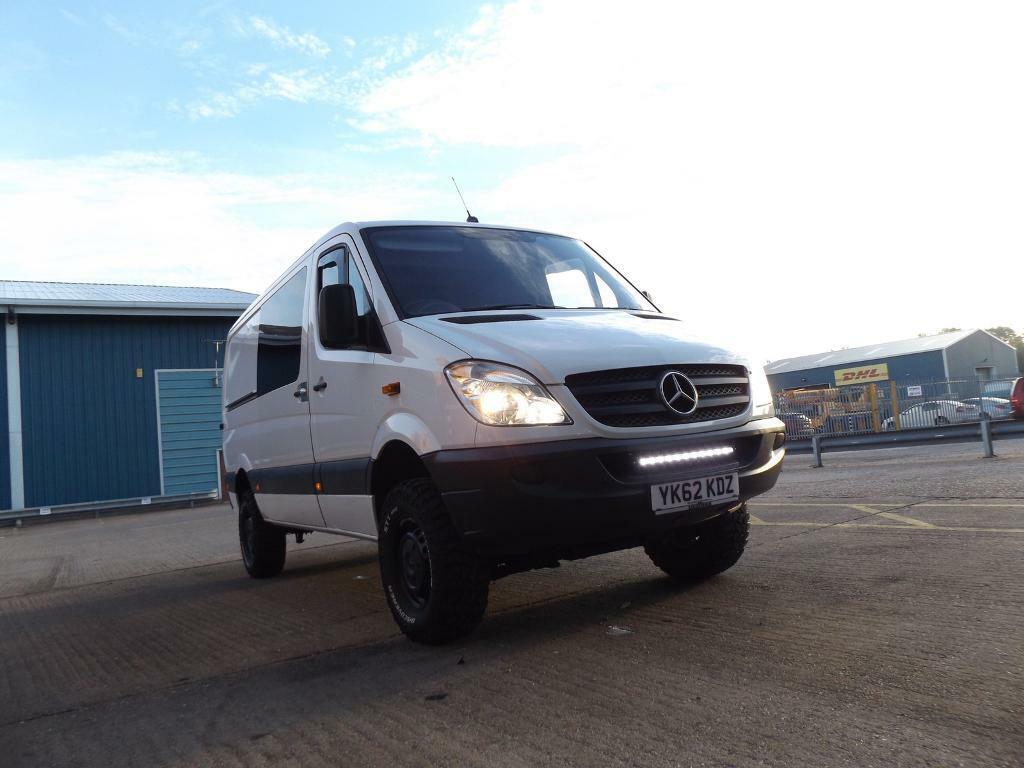 Mercedes sprinter 4x4 automatic 2012 | in Ivybridge, Devon | Gumtree