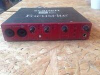 Focusrite 8i6 USB soundcard