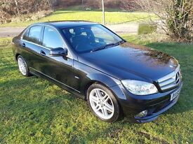 2010 (59) MERCEDES-BENZ C180 1.6 KOMPRESSOR SPORT BLUe-EFFICIENCY AUTO MOT FEB 2018 NAVIGATION