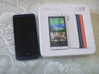 HTC DESIRE 610 -USED -NOT WORKING ONLY FOR PARTS COMPLETE WITH BOX
