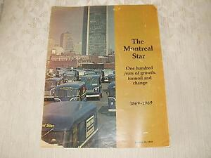 THE MONTREAL STAR - 100TH ANNIVERSARY EDITION JAN.16,1969 West Island Greater Montréal image 1